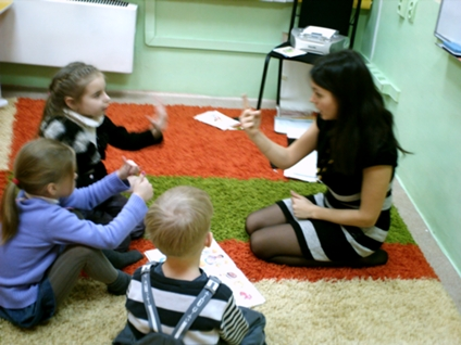 знакомство педагога с детьми в игровой форме